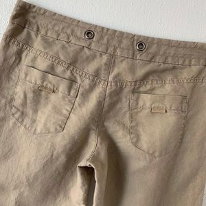 Anthropologie Pants - Daughters Of The Liberation Tan Linen Pants SZ 6